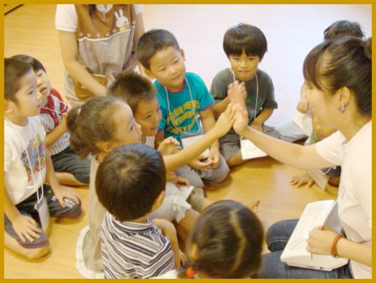 ベネッセ幼稚園保育園の英会話講師(中央区日本橋エリア)の画像・写真